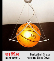 Basketball Shape Hanging Light Cover