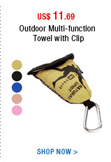 Outdoor Multi-function Towel with Clip