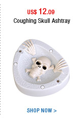 Coughing Skull Ashtray