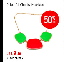 Colourful Chunky Necklace