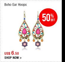 Boho Ear Hoops