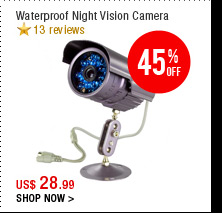 Waterproof Night Vision Camera