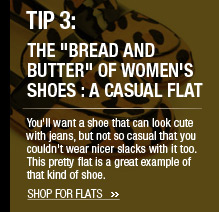 The Bread and Butter of Women's Shoes: A Casual Flat