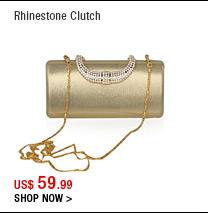 Rhinestone Clutch