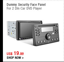 Dummy Security Face Panel