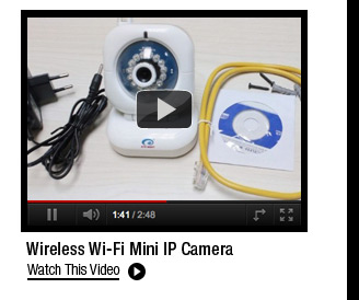 Wireless Wi-Fi Mini IP Camera