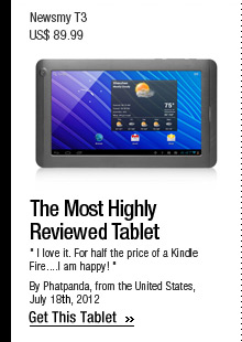 The Most Highly Reviewed Tablet