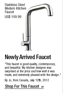 Newly Arrived Faucet