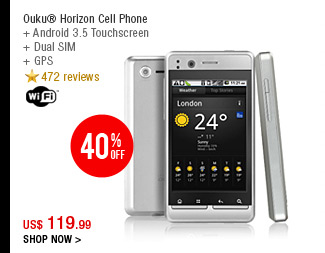 Ouku® Horizon Cell Phone