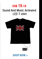 Sound And Music Activated LED T-shirt