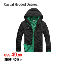 Casual Hooded Outwear
