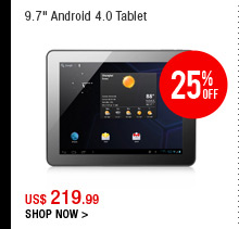 "9.7"" Android 4.0 Tablet"