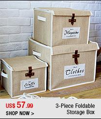 3-Piece Foldable Storage Box