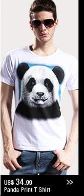 Panda Printing T Shirt