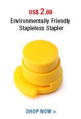 Environmentally Friendly Stapleless Stapler