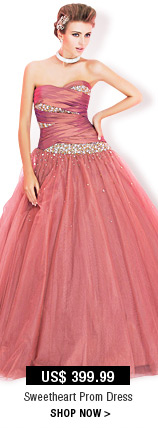 Sweetheart Prom Dress