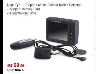Angel Eye - HD Sports Action Camera Motion Detector