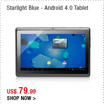 Starlight Blue - Android 4.0 Tablet
