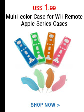 Multi-color Case for Wii Remote