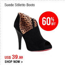Suede Stiletto Boots