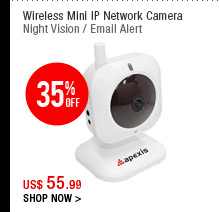 Wireless Mini IP Network Camera