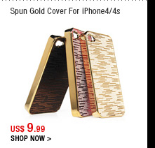 Spun Gold Cover For iPhone4/4s