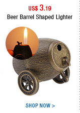 Beer Barrel Shaped Lighter