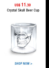 Crystal Skull Beer Cup