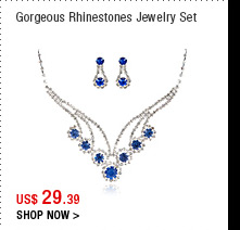 Gorgeous Rhinestones Jewelry Set