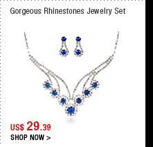 Gorgeous Rhinestones Jewelry Set