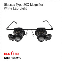 Glasses Type 20X Magnifier