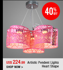 Artistic Pendent Lights