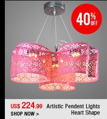 Artistic Pendent Lights