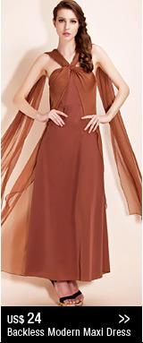 Backless Modern Maxi Dress