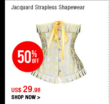 Jacquard Strapless Shapewear