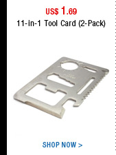 11-in-1 Tool Card (2-Pack)