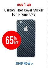 Carbon Fiber Cover Sticker