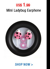 Mini Ladybug Earphone