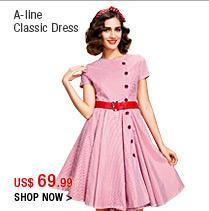 A-line Classic Dress