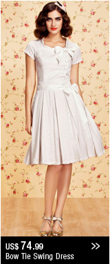 Bow Tie Swing Dress