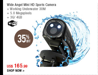 Wide Angel Mini HD Sports Camera