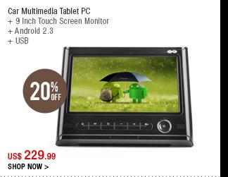 Car Multimedia Tablet PC