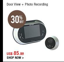Door View + Photo Recording