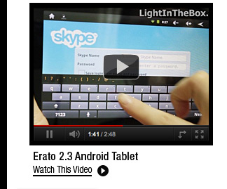 Erato 2.3 Android Tablet