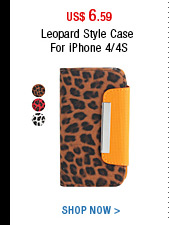 Leopard Style Case For iPhone 4/4S