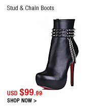 Stud & Chain Boots