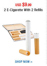 2 E-Cigarette With 2 Refills