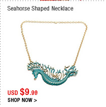 Seahorse Shaped Necklace