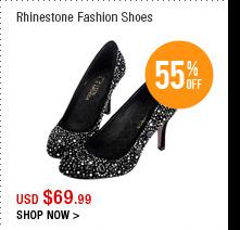 Rhinestone Fashion Shoes