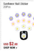 Sunflower Nail Sticker